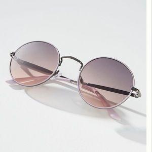 Anthropologie Estelle round sunglasses
